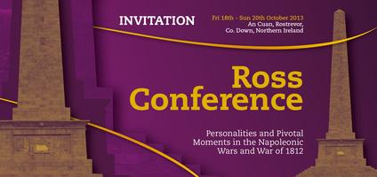 Ross Conference: Personalities and Pivotal Moments