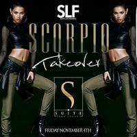 THIS FRIDAY!! #SCORPIOTAKEOVER HOSTED BY BIG TIGGER...