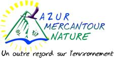 AZUR MERCANTOUR NATURE logo