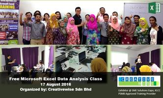 FREE Microsoft Excel Data Analysis One Full Day