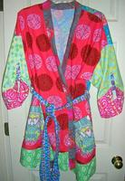 patchwork robe series