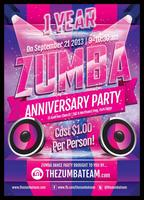 THE ZUMBA TEAM 1 YEAR ANNIVERSARY PARTY!!!