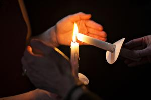 Candlelight Vigil Honoring Matthew Shepard and National...