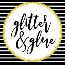 Glitter & Glue Gals logo