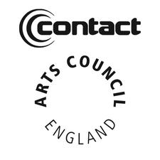 Arts Council England & Contact logo