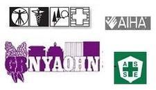 The GVSC, ASSE, WNYAIHA, GRNYAOHN and hosted by Xerox Corporate EHS&S logo