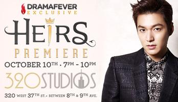 DramaFever Exclusive - Heirs Premiere