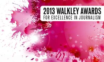 WALKLEY FINALISTS ANNOUNCEMENTS 2013
