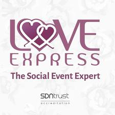 Love Express #TheSocialEventExpert #LetYourLoveStoryBegins logo