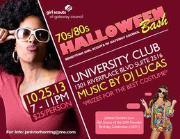 70s/80s Halloween Bash benefiting Girl Scouts of...