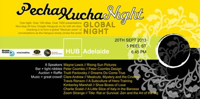 "PechaKucha Night - Adelaide Volume #8. ""Hidden Heroes""..."