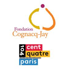Fondation Cognacq-Jay et CENTQUATRE-PARIS logo