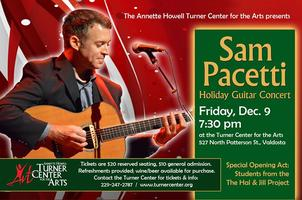 Sam Pacetti Holiday Guitar Concert