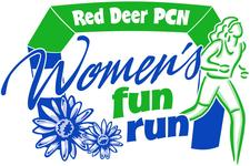 Red Deer PCN Women's Fun Run  logo