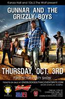 Gunnar & The Grizzly Boys After Party Show at Kanza...