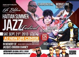 6TH EDITION HAITIAN SUMMER JAZZ FESTIVAL