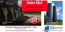The Future of Feeding: Harvestore & Lely logo