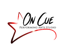 On Cue Performing Arts Studio logo