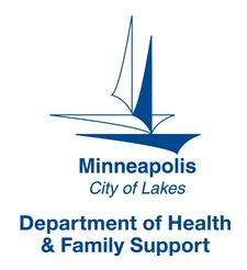 Minneapolis Department of Health and Family Support logo