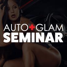 The Auto+Glam Seminar logo