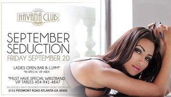 September Seduction Friday Sept 20th
