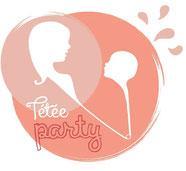 Tétée Party, association de soutien en allaitement maternel logo