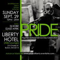 "PRIDE""Nigeria @53 Celebration @LIBERTY HOTEL SUN...."