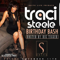 THIS FRIDAY!! TRACI STEELE BIRTHDAYS BASH HOSTED BY...