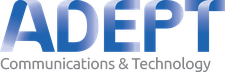 Adept Communications and Technology logo