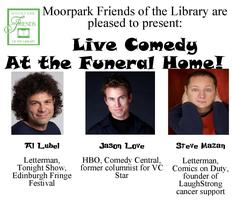Spooky Live Comedy to Benefit the Moorpark Library