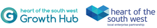 HotSW Growth Hub with Heart of the South West Local Enterprise Partnership  logo
