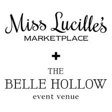 Miss Lucille's + The Belle Hollow Events logo