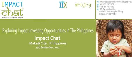 Impact Chat: Exploring Impact Investment Opportunities...