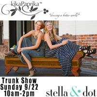 Style, Sip and Shop! Stella & Dot and kikaPaprika...