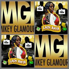 LADY ANYA & MIKEY GLAMOUR logo