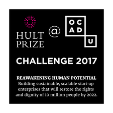 Hult Prize at OCAD U logo