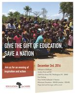 Give the Gift of Education, Save a Nation