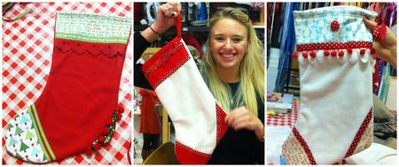 Learn to sew- Make a Christmas Stocking