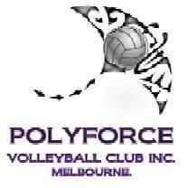 PolyForce Volleyball Club Inc.  logo