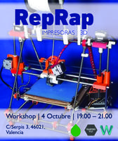 Workshop RepRap impresoras 3D