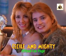 CECILE and MIGHTY  logo