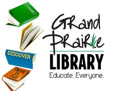Grand Prairie Libraries  logo