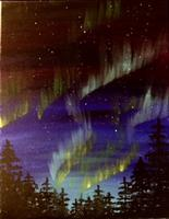 Paint Workshop-Northern Lights