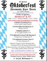 Sacramento Turn Verein - Oktoberfest 2013 - Saturday,...