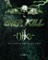 Overkill @ Slim's w/ Nile, Mystic Rage