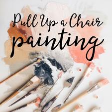 Pull Up a Chair Painting logo
