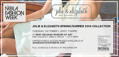Jolie & Elizabeth S/S '14 Collection at NOLAFW