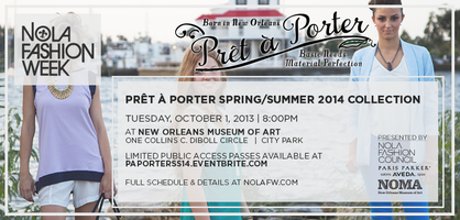 Pret-a-Porter S/S '14 Collection at NOLAFW