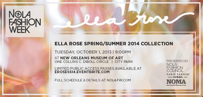 Ella Rose S/S '14 Collection at NOLAFW