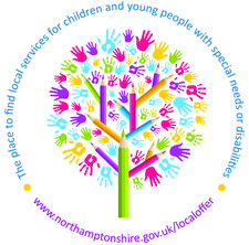 Northamptonshire's Local Offer logo